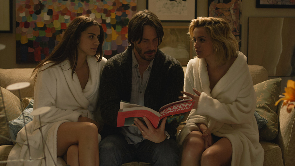 Watch: Keanu Reeves is Terrorized in New 'Knock Knock' Trailer